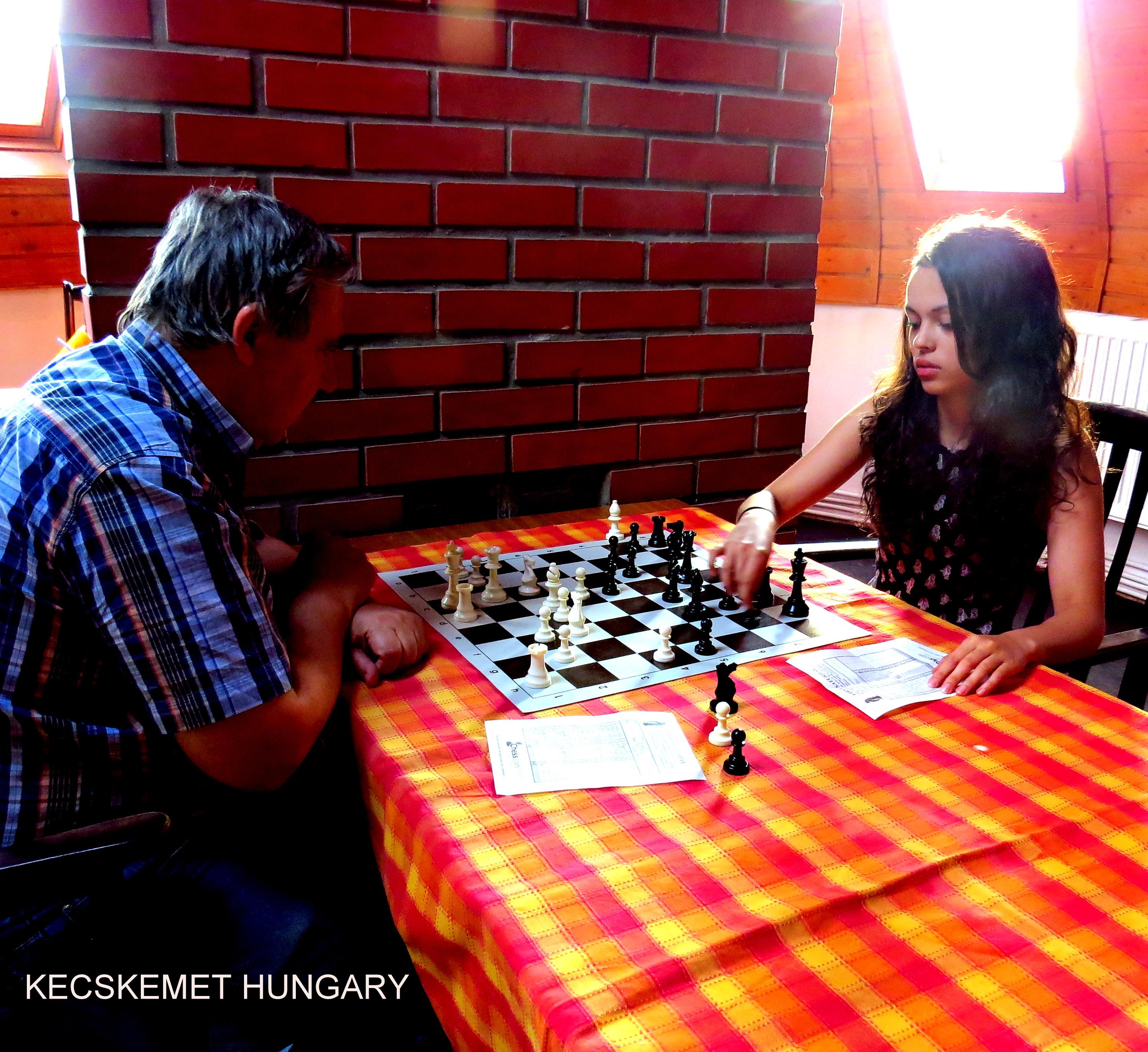 Chess in Kecskemet
