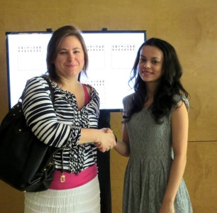 Meeting GM Judit Polgar Budapest