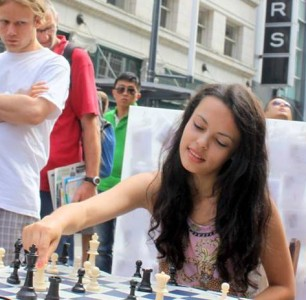 Chess Busking Day 1