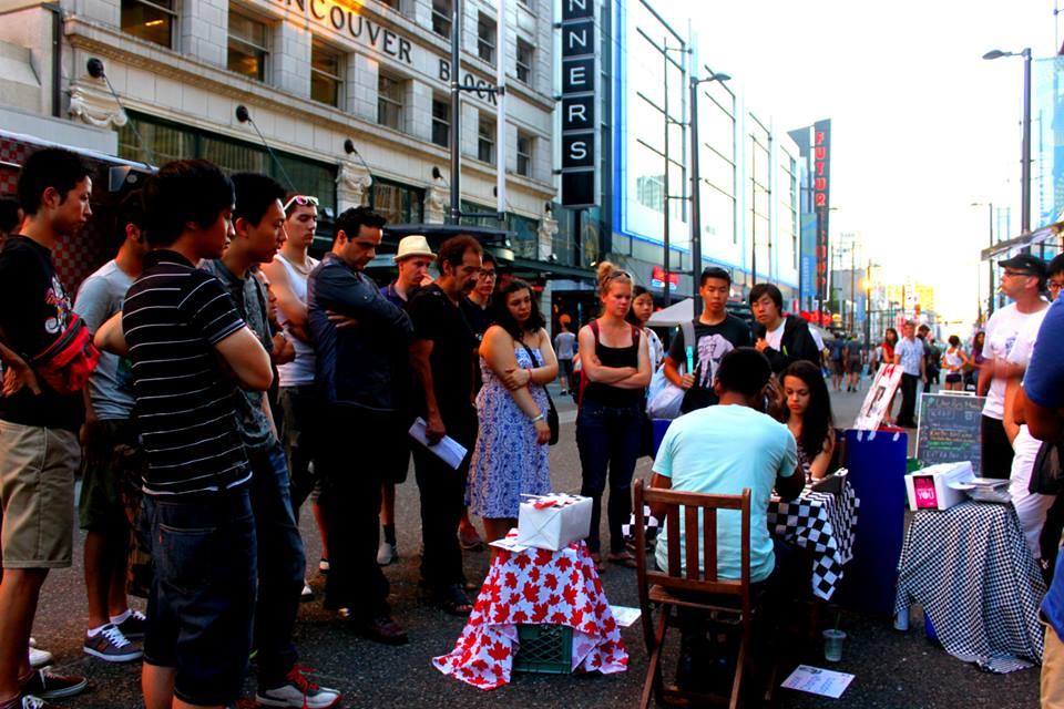 Chess Busking Day 2 (2013)