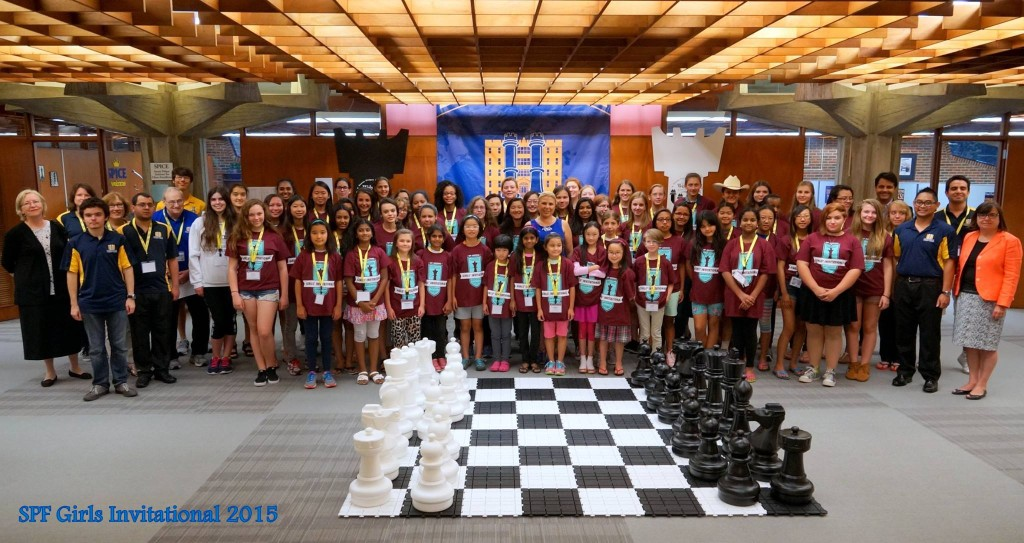 FIRST TIME IN AN ALL GIRLS CHESS TOURNAMENT