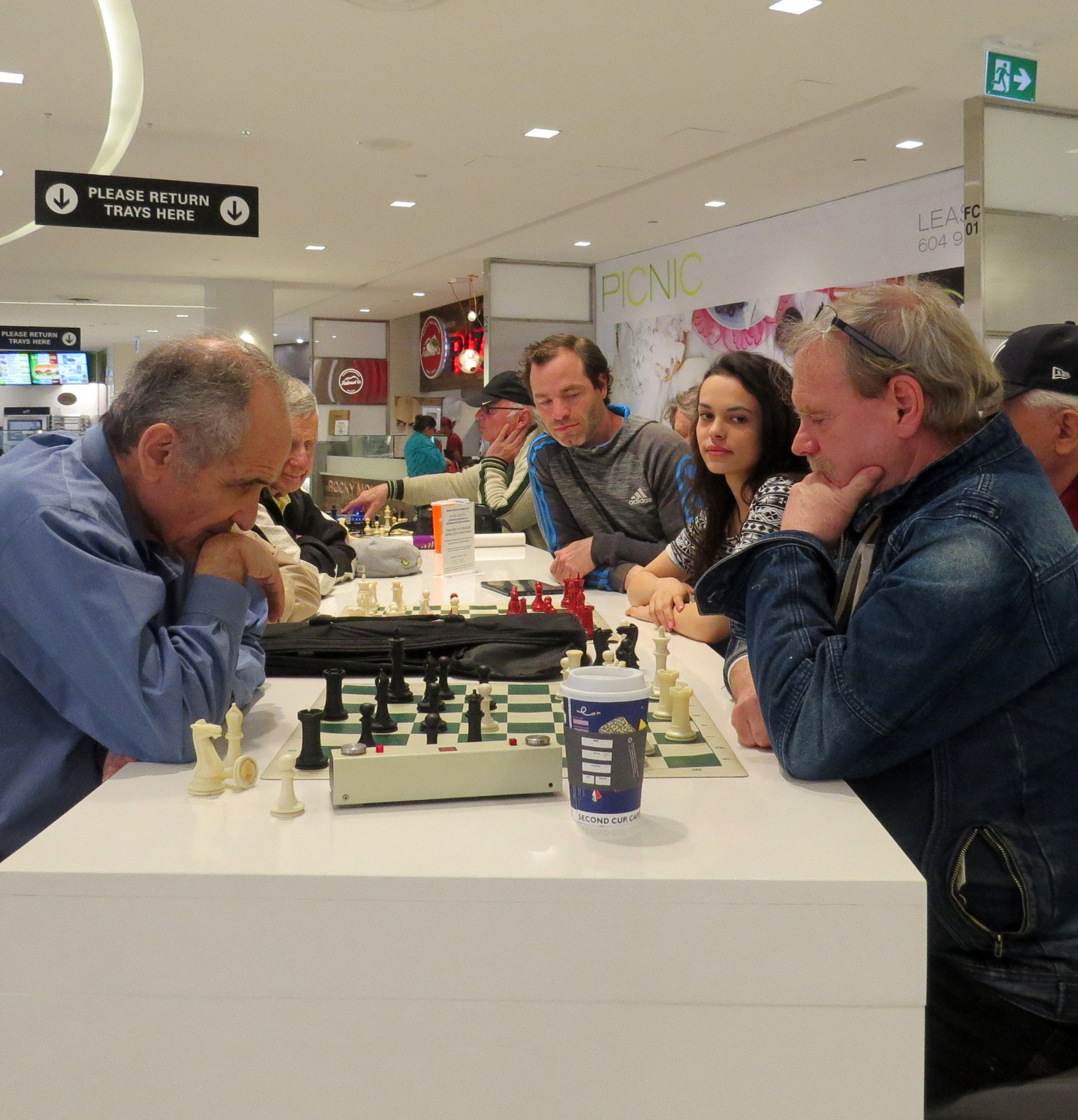 CHESS BANNED from Park Royal Mall