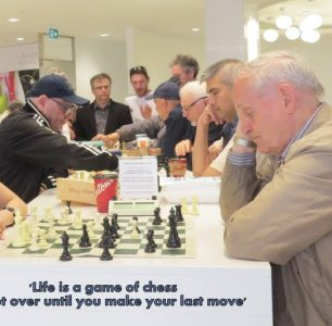 Park Royal Chess Players Stay – It's a DRAW! A Win/Win